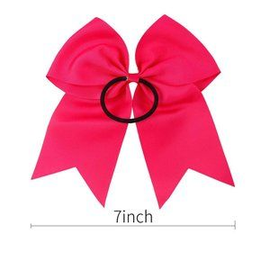 "Accessories - 20pcs 8"" Grosgrain Ribbon Large Cheer Hair Bow Tie"